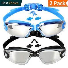 78c50682c56 EVERSPORT Swim Goggles (2 Pack or 1 Pack)