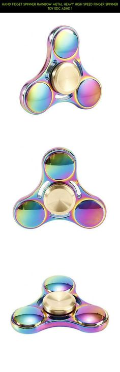 Hand Fidget Spinner Rainbow Metal Heavy High Speed Finger Spinner Toy EDC ADHD 1 #fpv #gadgets #technology #spinner #camera #parts #rainbow #heavy #kit #racing #products #drone #shopping #plans #tech