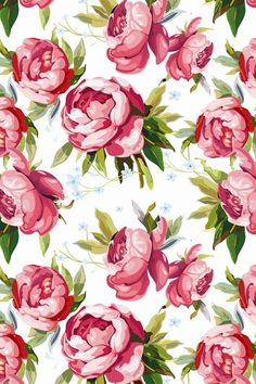 Papel de Parede Estampa Floral #mobilewallpapers