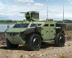 FNSS Pars 4x4 New Apc and Aselsan stabilize Top