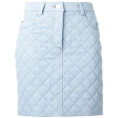 Moschino Quilted Skirt