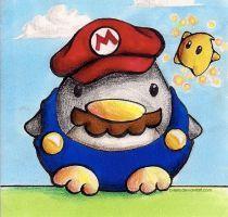 Super Mario Penguin by B-Keks