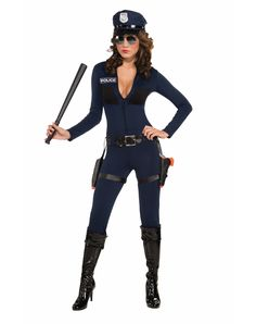 Traffic Stop Cop Costume, spirithalloween.com