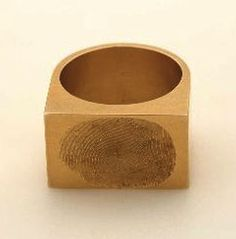 fingerprint ring by gerd rothman