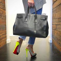 Weekend Vibes 😍 Shop all handbags, shoes & accessories on www.mymoshposh.com! #saintlaurent #ysl #saintlaurentsacdejour #luxury #fashion #trendy #purselover #purseblog #bagsofTPF #christianlouboutin #louboutinworld #redbottoms #talkshoes #shoelover #moshposhfinds #mymoshposh #designerconsignment