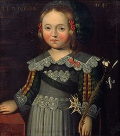 Le Dauphin, future Louis XIV, 1641, French school