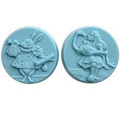 Milky Way Molds - Wonderland 2 Soap Mold, $8.25 (http://www.milkywaymolds.com/wonderland-2-soap-mold/)