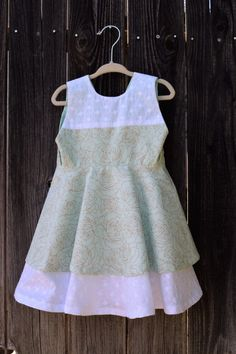 Mint Green Girls Dress by MillyMacCreations on Etsy https://www.etsy.com/listing/272742920/mint-green-girls-dress