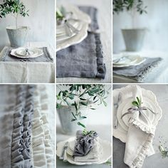 Stunning tablecloths and napkins handmade by Clarabelle Interiors for Peony and Sage using our new Finca Linens. Images by Sarah Gardner Photography Shabby Vintage, Shabby Chic, English Interior, Just Dream, Textiles, Linens And Lace, Linen Napkins, Blue Fabric, Soft Furnishings