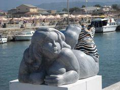 Nicola Domenici: Nicola Domenici - Foto Mostra Personale Lungo Molo Madonnina - Darsena Viareggio Luglio/Agosto 2012