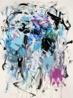 Landscape with Blue and Violet II, Julie Schumer