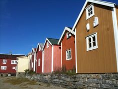 Mosjøen in Nordland Lofoten, Four Square, Norway, Places Ive Been, Places To Visit, Shed, Outdoor Structures, Traditional, Outdoor Decor