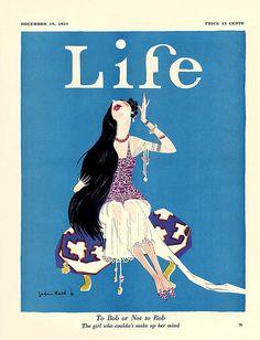 Life December 1924    Illustration by John Held, Jr.