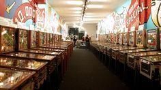 Pinball Museum in Alameda, CA