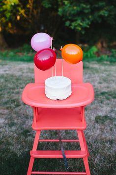 balloon cake toppers {lancaster lane}