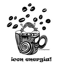 Que tengáis un día (y una semana) despierta, estimulante, con chispa, intensa en sabores y ¡llena deenergía (de la buena)! Eeeegunon Mundo!!