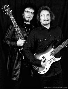 Tony Iommi and Geezer Butler-Black Sabbath........
