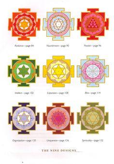 Gallery Lotus, sacred geometry, yantra designs, Buddhist, yoga spiritual art