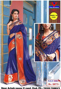 New designer of Chiffon with Zari Border Lace saree like party wear