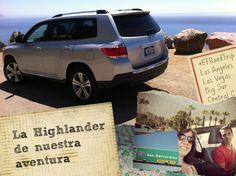 La Toyota Highlander de nuestra aventura de carretera en #California #BigSur #LasVegas