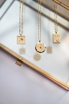 Add a personal touch to your necklace layers. These lucky gold pendants each have their own meaning, plus they look great layered up with initials and plain chains. Choose your favourite here. Diamond Cross Necklaces, Charm Necklaces, Charms, Jewelry Photography, Initial Necklace, Cute Jewelry, Cross Pendant, Gold Pendants, Jewelery