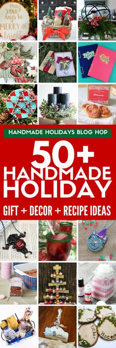 Find over 50 DIY gift ideas, holiday decor projects , holiday recipes, and food gift ideas from your favorite DIY bloggers and craft product companies. Win one of 11 prizes worth $50 each from amazing sponsors! EVERY blog post has a tutorial showing how to make each project to help you make this holiday handmade.