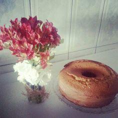 Nada como um fim de tarde com bolo de fuba quentinhooo!!!