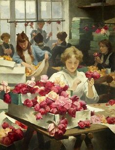 "polvo-de-estrellas-world: "" Flower Makers, Samuel Melton Fisher """