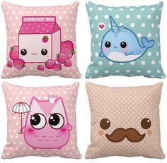 .cute kawii pillows