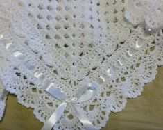 Item details Handmade Dimensions Size Toddler US Length Inches Width Inches Material Wool Crochet Baby Blanket Afghan White Christening Baptism Granny Square Baby Blanket Girl Boy Crochet granny square baby Crochet Skull, Hand Crochet, Crochet Lace, Beanie Babies, Crochet Blanket Edging, Afghan Crochet, Crochet Granny, Nautical Baby Quilt, Christening Blanket