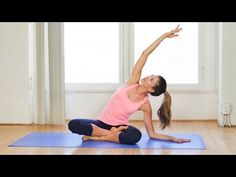 Pilates Workout Video for Beginners ~ You don't need a thing for this workout, though a yoga mat might make it more comfortable. After you've done a warm-up, press play below to get started.