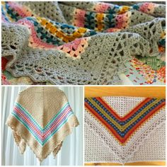 My Rose Valley: A Nordic Shawl Parade