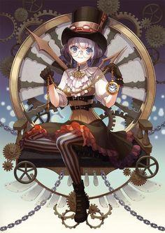 Dessin steampunk par yeokki