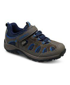 Gunsmoke & Blue Chameleon Low Hiking Shoe