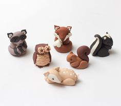 Hey, I found this really awesome Etsy listing at https://www.etsy.com/listing/242951422/fondant-woodland-animals