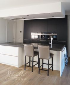 Projecten | RhijnArt Keukens uit Kesteren Kitchen Lighting Design, Kitchen Room Design, Ikea Kitchen, Kitchen Cabinets, Diy Home Decor, New Homes, Interior, House, Furniture