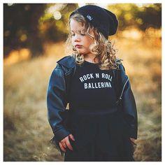 Rock N Roll Ballerina Leo by Little Wonderland Clothing When you just want to be a RocknRoll Ballerina  . . #la #alternative #strut  #tomboy #toddlers #kidsfashion #ootd #potd #streetwear #hipkids #music #fashion #styleblogger #streetfashion #rocknrollballerina #pose #tomboy #littlewonderlandclothing #dance