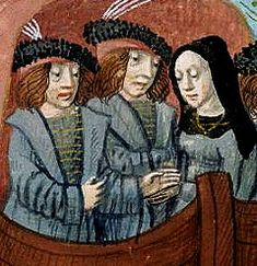 Death of a Dowager: Elizabeth Woodville, queen for 20 years, widow of Edward IV.  Their marriage invalidated by Edward's secret marriage to Eleanor Butler, their children rendered illegitimate by the Titulus Regius - which was repealed unread by Henry VII when he married her daughter Elizabeth of York.