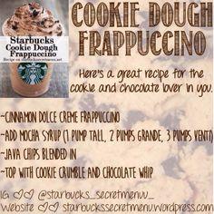 I love Starbucks! Starbucks Frappuccino, Starbucks Cookies, Frappuccino Recipe, Starbucks Coffee, Coffee Coffee, Coffee Break, Coffee Drinks, Morning Coffee, Breakfast