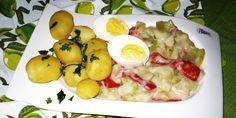 Smetanová omáčka z čerstvých paprik Potato Salad, Potatoes, Breakfast, Ethnic Recipes, Food, Red Peppers, Morning Coffee, Potato, Essen