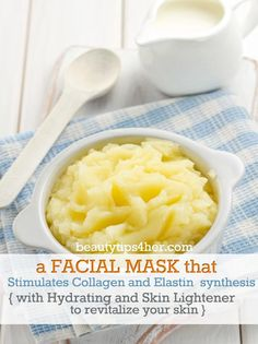 DIY Potato Facemask for Lighter, Hydrated Skin | Beauty and MakeUp Tips