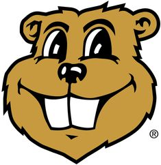 Minnesota Golden Gophers Mascot Logo (1986) - Goldy Gopher's head