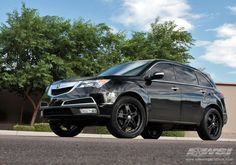 Blacked out Acura MDX