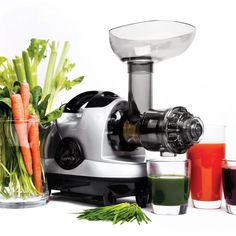 """Slow and steady wins the race!  Especially, if its a masticating juicer. For maximum health benefits pick one of these coolest masticating juicers by clicking on the """"Visit"""" button above.  #juicer #juicerrecipes #juicing #recipes #masticatingjuicers #slowjuicers #kitchen #appliances #kitchenappliances #home #homeimprovement"""