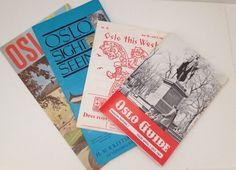 Details About Vintage Travel Brochure Scandinavia  Tour