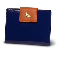 oneoddbird paradise wren - this perky patent and soft, buttery leather wallet takes functionality to new heights with plenty of room for cards, bills, receipts, and a hidden zipper that opens to a coin purse. choose from a gaggle of uplifting color combinations and watch out for pop of whimsy sewn into every piece.