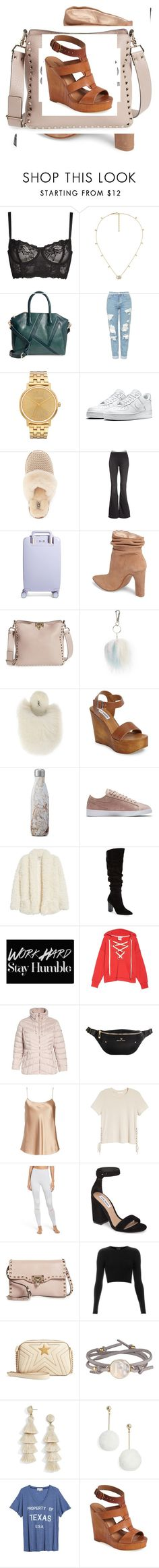 """Untitled #2199"" by devilsndesign on Polyvore featuring Naja, Gucci, Sole Society, Topshop, Nixon, NIKE, UGG, Free People, Raden and Kristin Cavallari"