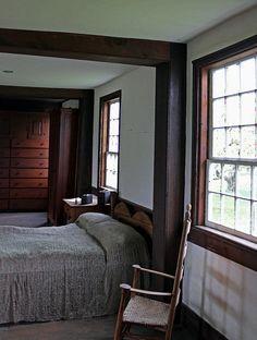 Shaker Farm Worker Bedroom