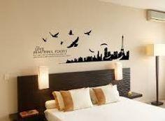 Risultati immagini per disegni pareti camera da letto | Bedroom ...