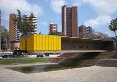 BR, Fortaleza, Castelo Branco Memorial. Architect Sergio Bernardes, 1972.